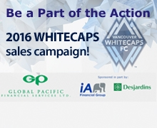 Whitecaps sales campaign